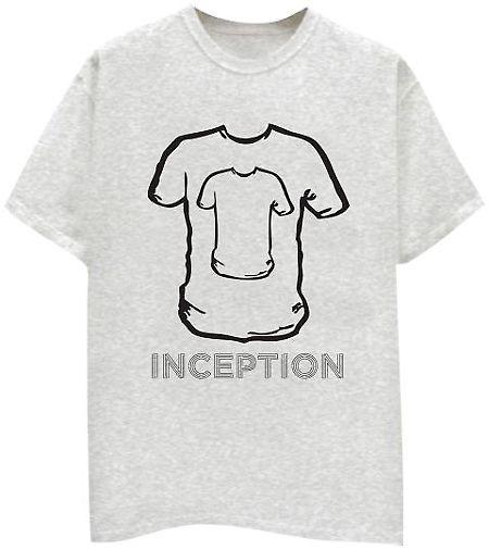 Inception tshirt @ allMemoirs