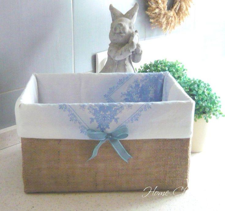 DIY Storage Box/Cardboard Recycling