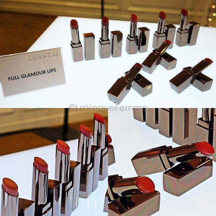 Kanebo Lunasol Autumn Collection 2012 - Full Glamour Lips