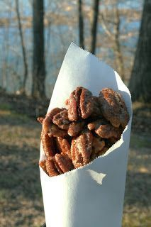 Praline Pecans! I'm making these for Christmas this year instead of cookies. And this recipe uses Splenda - perfect for family functions. =)