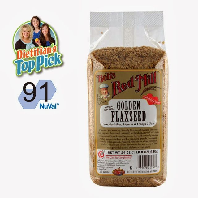 Dietitian's Top Pick: Flaxseed. What do you do with that stuff? Click thru to find out!