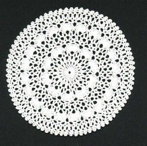 snow doily free pattern