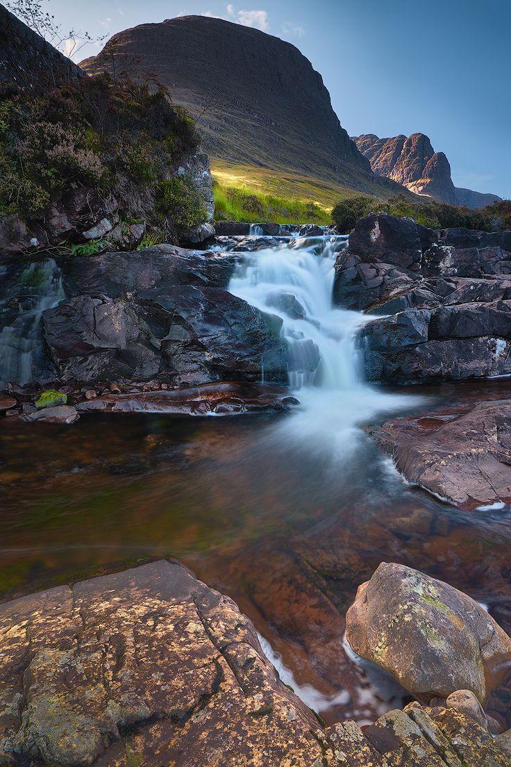 Russell Burn, Bealach na Ba, Applecross Peninsula, Highlands, Scotland by Ian Hex of LightSweep