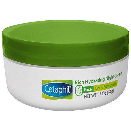 Cetaphil Face Rich Hydrating Night Cream 1.7 oz. Jar