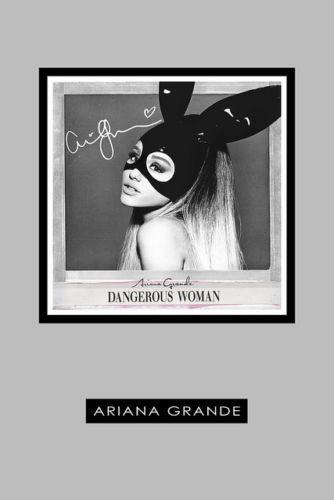 ARIANA-GRANDE-DANGEROUS-WOMAN-POSTER-PRINT-SIGNED-AUTOGRAPH-CD-ALBUM-GIFT