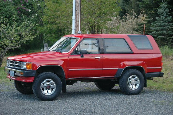 1st Generation 4Runner from 1984-1989. Found a great deal on one of these. Maybe I should take it