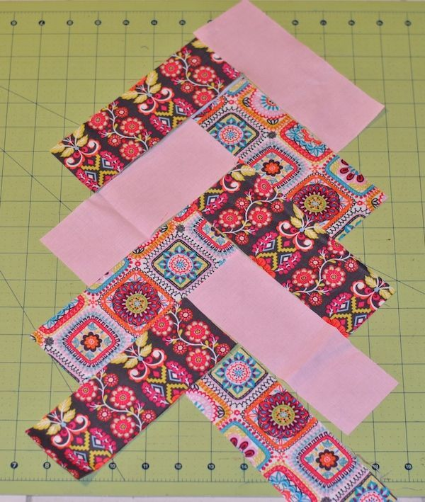How to make a jelly roll French braid quilt.