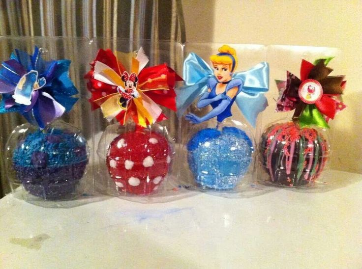 Party favors ~~ Caramel & Candy Apples