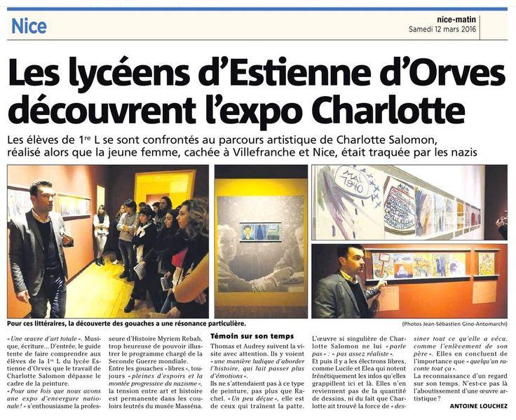 Le médiateur Pascal Albertini en intervention pour l'expo Charlotte Salomon au Palais Masséna, Nice. Retrouvez mon retour sur l'Expo : http://wp.me/p79FXq-92