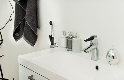 2713F Oras Optima - Smart Bidetta wash basin faucet