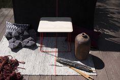 Kodo side table designed by CODOLAGNI design