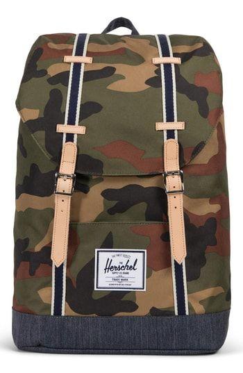 4190e133bb7 Herschel Supply Co. Retreat Offset Denim Backpack