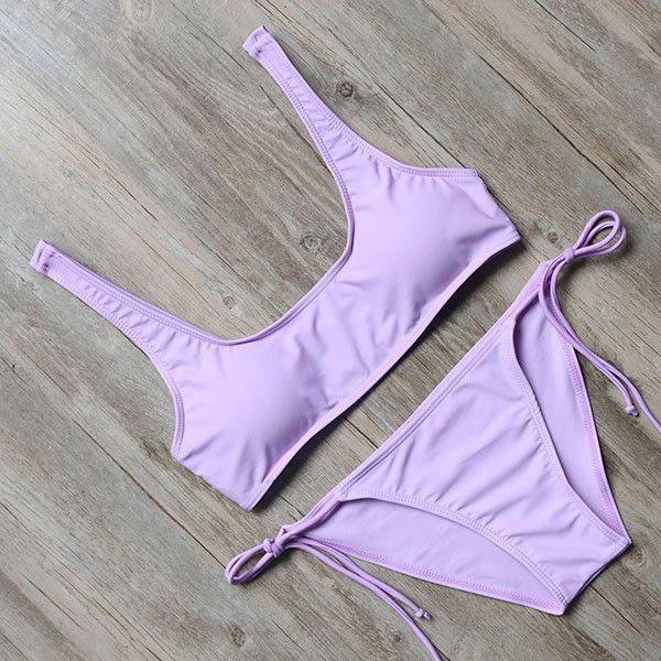 Alfonsina Lavender Bikini