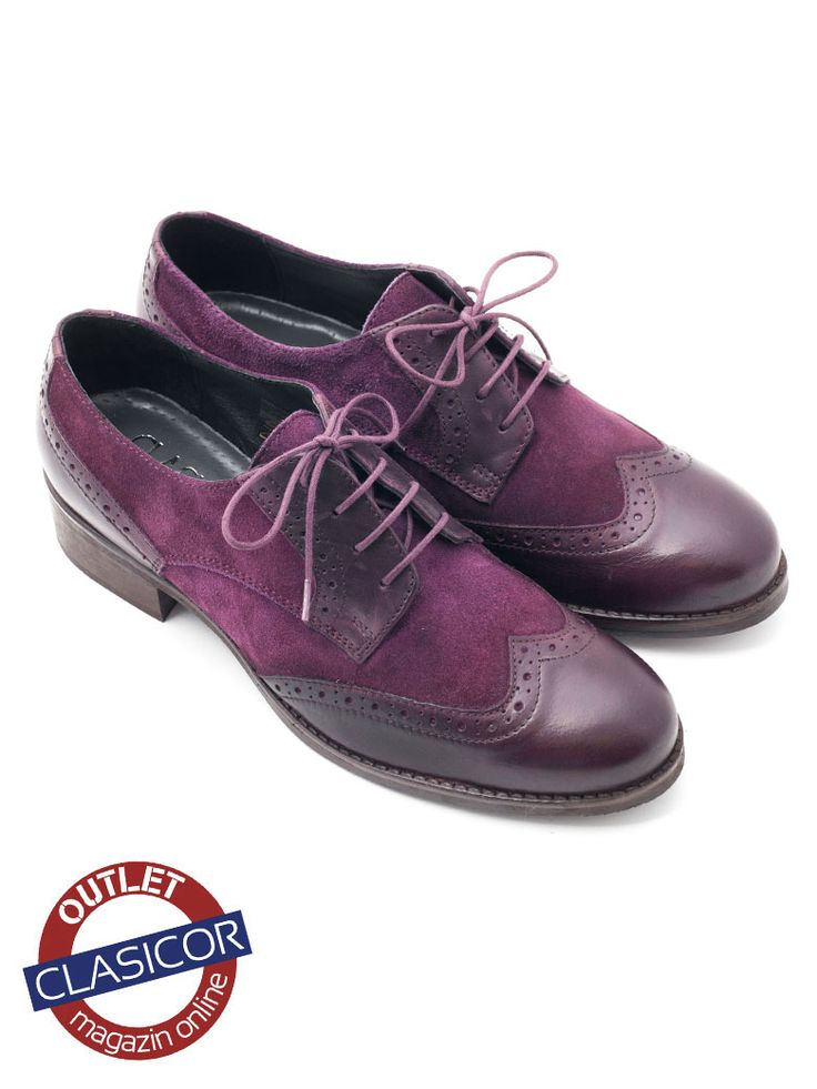 Pantofi casual dama bordo din piele intoarsa – 012 | Pantofi piele online / outlet incaltaminte piele | Clasicor