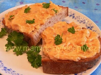 Tvarůžková pomazánka s majonézou