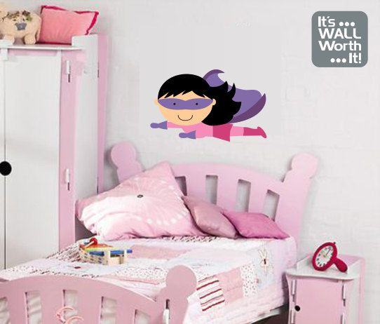 Best Its WALL Worth It Images On Pinterest Colour Chart - Superhero wall decals for girls