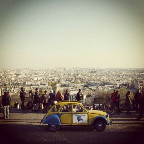#Montmartre is the highest point of #Paris! We love to stop here during our #tours!