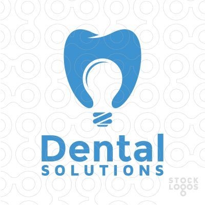 Exclusive Customizable Logo For Sale: Dental Solutions | StockLogos.com