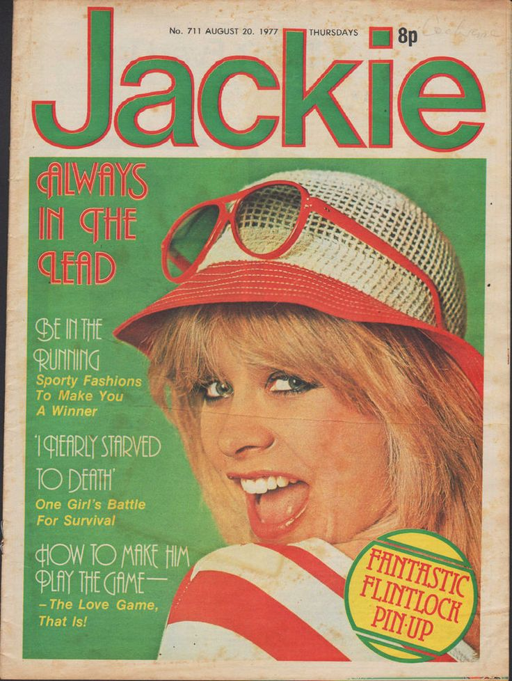 Jackie Magazine 20 August 1977 No.711    Flintlock    Richard Beckinsale   Slade
