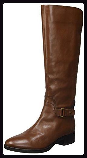 Geox Damen D Felicity A Schlupfstiefel, Braun (BROWNC0013), 40 EU - Stiefel für frauen (*Partner-Link)
