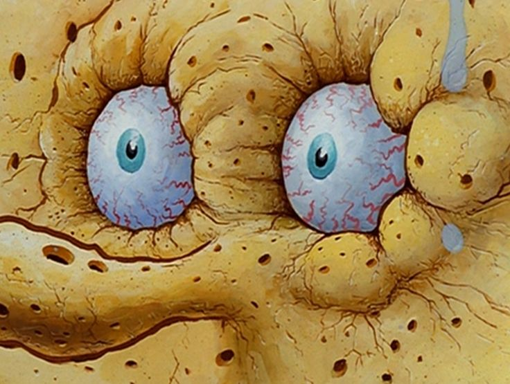 Image result for spongebob sweating