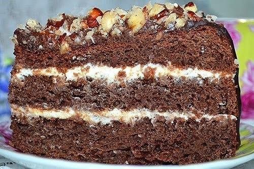 Бисквитный торт без яиц  / Воркаут как образ жизни