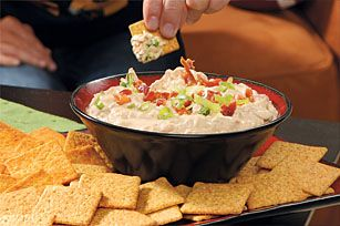 Smokin' Chipotle Bacon-Onion Dip recipe - made this last night and it went over well. I only used 1/3 of the can of peppers though.