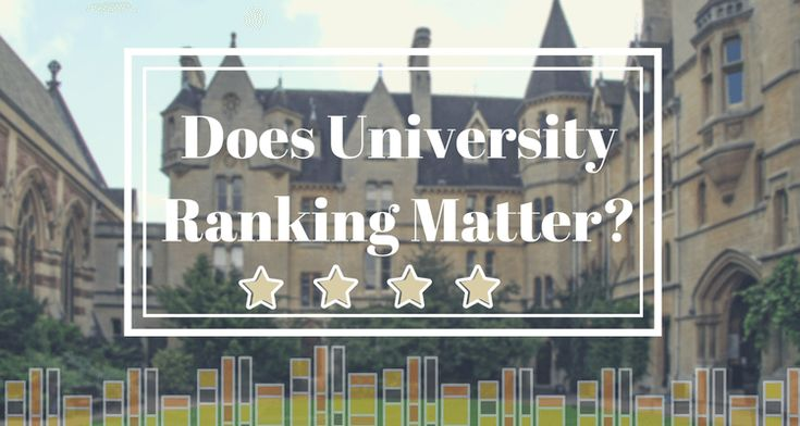 University rankings boost schools' reputation and attract more potential students. Students and their parents look at university ranking to decide which university they will choose.