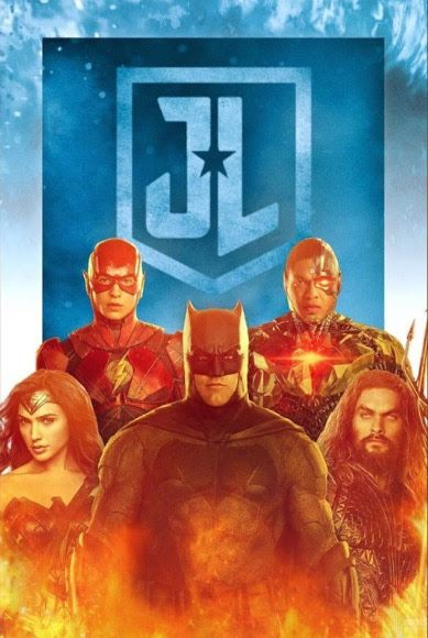 Justice League Movie Poster 2017 Featuring Flash, Cyborg, Wonder Woman, Batman and Aquaman, Check Out 19 Easter Eggs and Missed Details From Justice League Movie - DigitalEntertainmentReview.com
