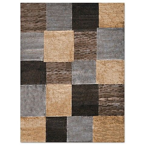 Home Dynamix Tribeca Tiles Rug In Brown Grey Home Dynamix Area