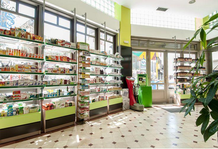 Athens city pharmacy Greece by KaliGavriil Design Lab