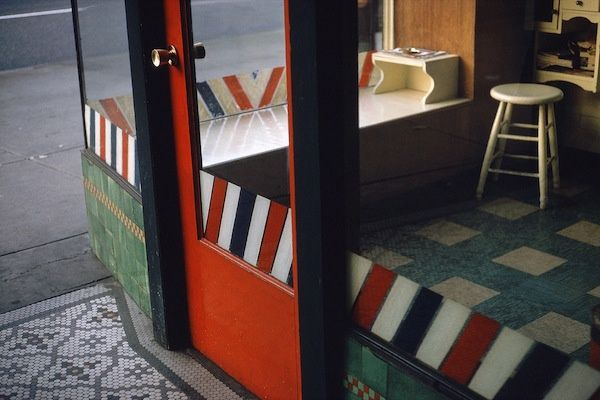 Empty Barber Shop by Fred Herzog