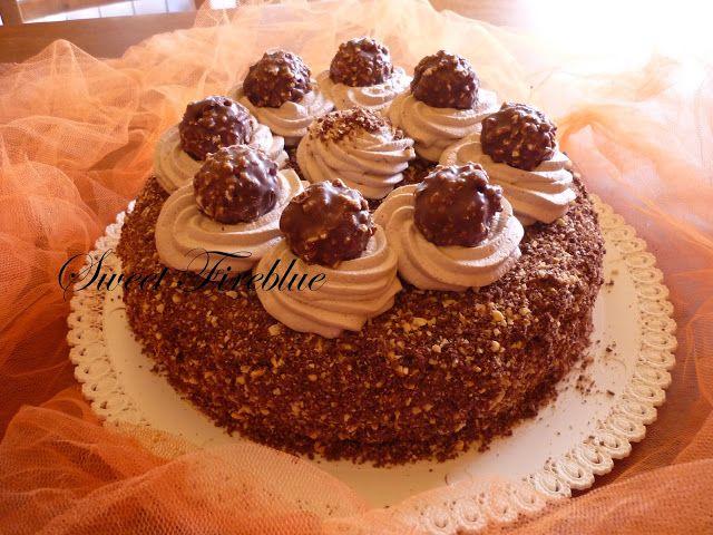 "Sweet Fireblue: ""Torta Rocher"" di Morena"
