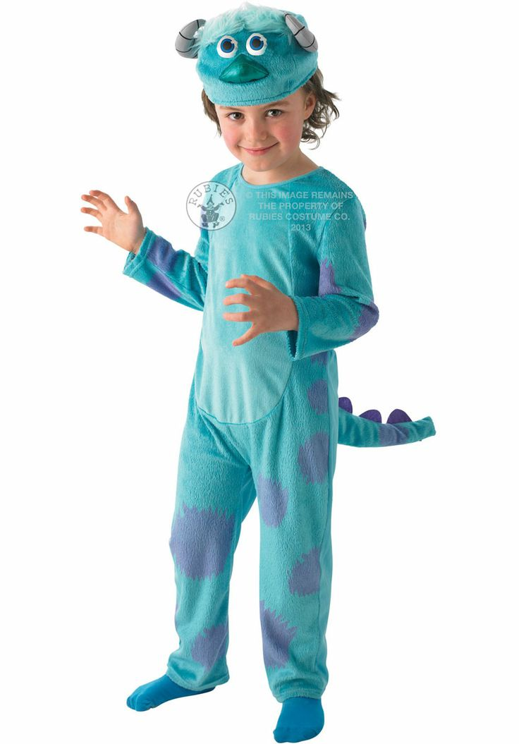 kids sulley deluxe costume from the epic films monsters university and monsters inc the costume includes jumpsuit and headpiece from our halloween - Sully Halloween Costumes Monsters Inc