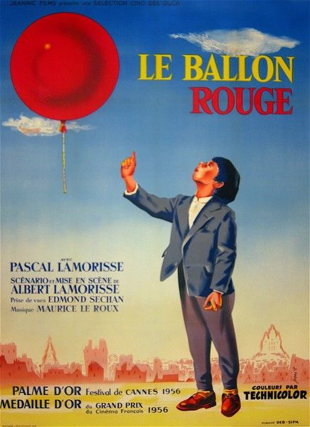 an introduction to the movie the red balloon Newly restored and available for the first time on dvd, albert lamorisse s  exquisite the red balloon remains one of the most beloved children s films of all  time.