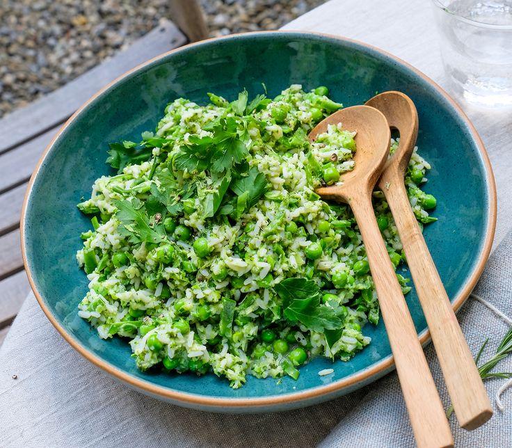 Kräuter verleihen diesem Salat eine  besondere Note.