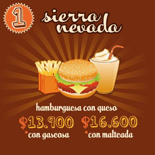 Hamburguesas Sierra Nevada en Bogotá | ¡Conoce nuestra carta!Sierra Nevada Hamburguesas y Malteadas
