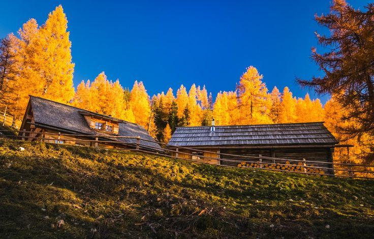 Goldener Herbst Ramsau am Dachstein
