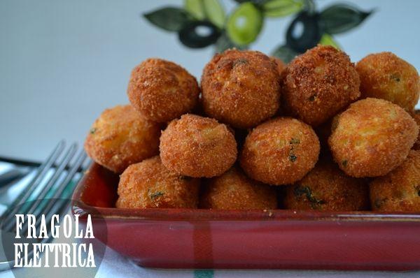 POLPETTE DI MERLUZZO fragolaelettrica.com Le ricette di Ennio Zaccariello #Ricetta
