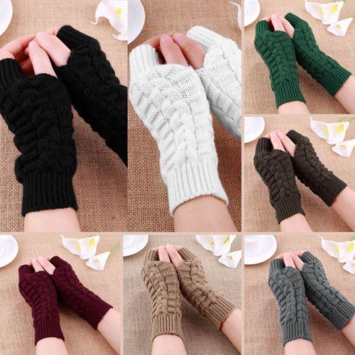 Fashion-Unisex-Men-Women-Knitted-Fingerless-Winter-Gloves-Soft-Warm-Mitten-Solid