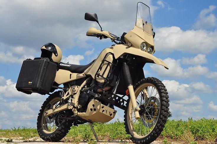Military look KLR 650