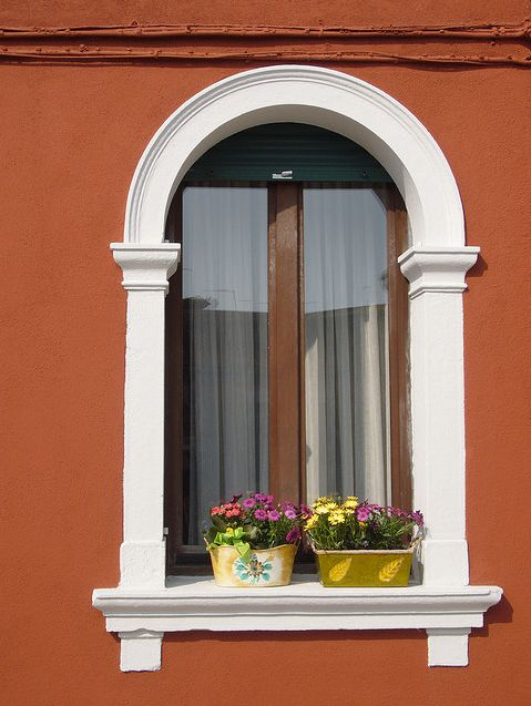 Window of a house in murano island, Venice. Italy By Ezioman: Amazing Windows, Venice Italy, House, Flower, Window Boxes