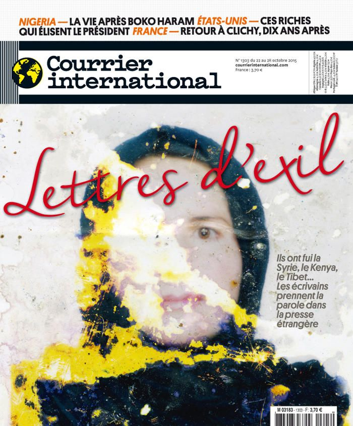 Courrier international 1303, du 22 octobre 2015