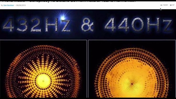 """432 hz The """"God note"""" our natural frequency???"""
