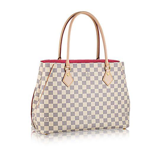 CALVI - Damier Azur Canvas - Handbags   LOUIS VUITTON