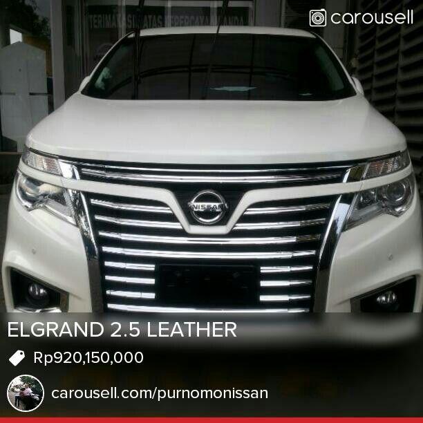 Elgrand 2.5 cvt leather
