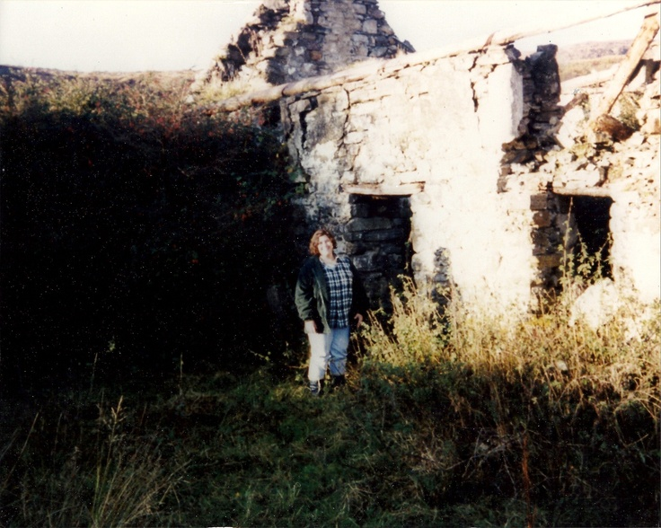 my great - grandmother's birthplace...her parent's cottage in Oughterard, County Galway, Ireland