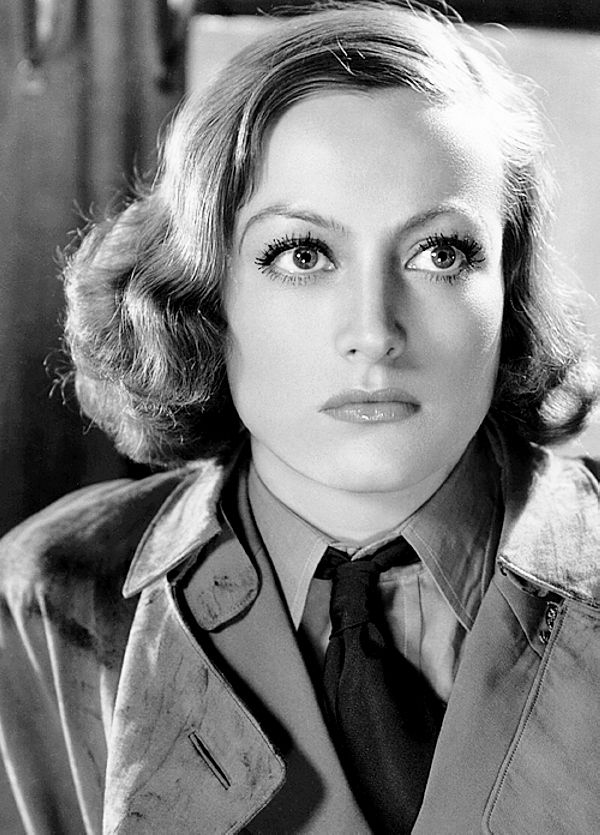 We Had Faces Then — Joan Crawford in Today We Live (Howard Hawks,...