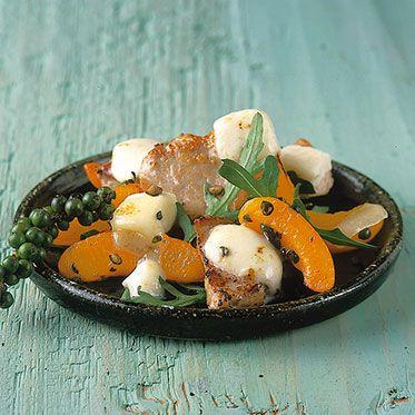 Schweinefleisch mit Aprikosen Rezept | Küchengötter