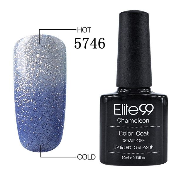 Elite99 10ml Mood Temperature Change Nail Gel Polish 100 Colors Thermal Color Changing UV/LED Lamp Need Gel Varnish Nail Polish